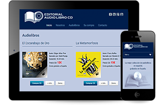 Web Editorial Audio Libro CD